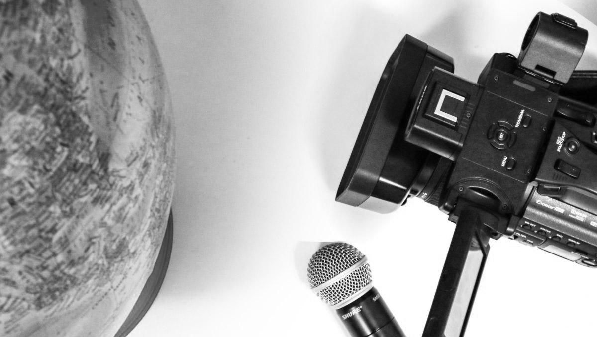 globe-and-video-camera